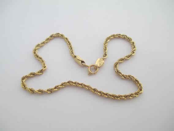 Pulseira Tipo Cordão - Ouro 18k - 1.93 Gr - 19 Cm