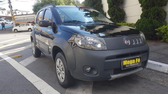 Fiat Uno Way 1.4 Flex 5p 2011 Preto Completo