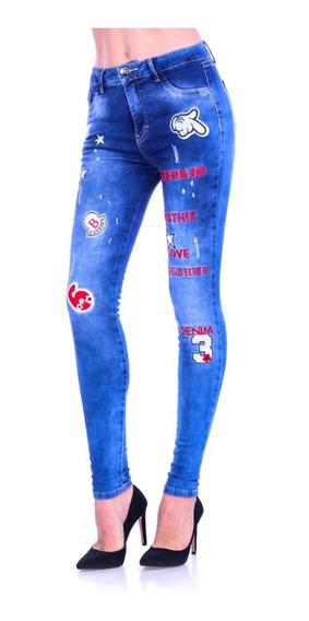 Pantalón De Mezclilla Jeans Gs-1828