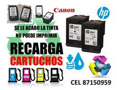 Recarga De Cartuchos Hp Y Canon