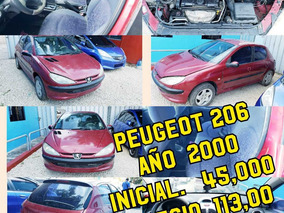 Peugeot 206 Inicial 45mil