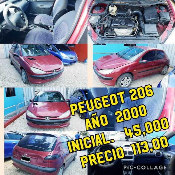 Peugeot 206 Inicial 45mil