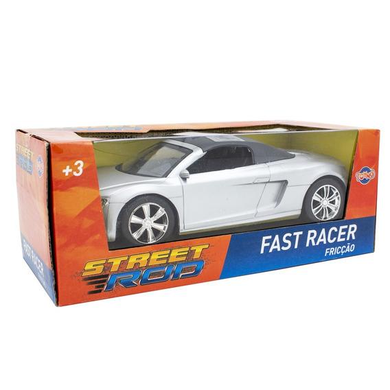 Carrinhos De Fricção Fast Racer Toyng