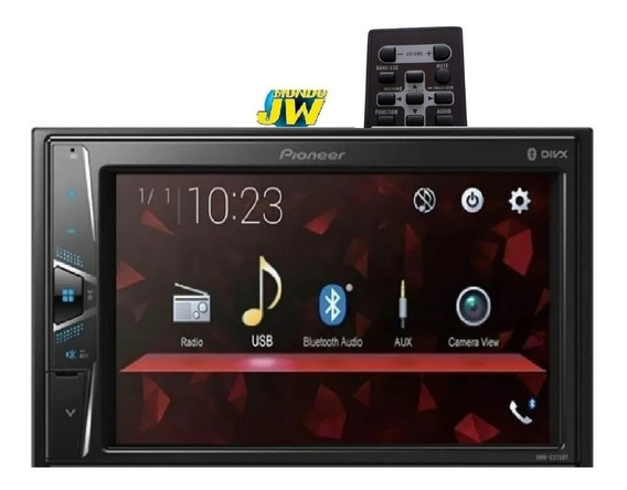 Stereo Pioneer Dmh G 225 Bluethoot 2din Usb Lcd Ultimo
