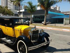 Ford 1929 Placa Preta