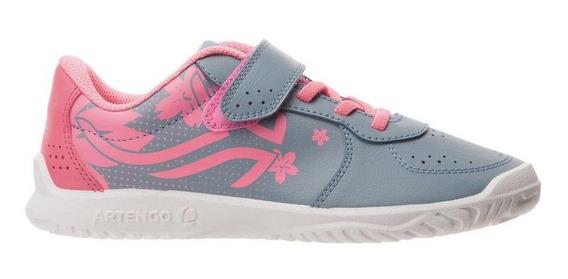 Calzado De Tenis Para Niños Gris-rosa 2081791