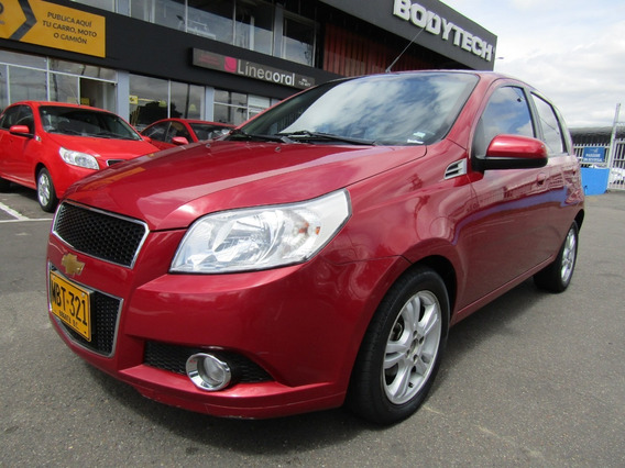 Chevrolet Aveo Emotion Gt Mt 1600cc Aa