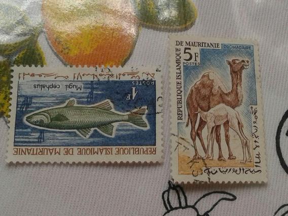 Estampillas De Mauritania. Colonia Francesa.