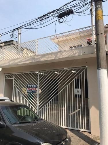Sobrado Para Alugar, 120 M² Por R$ 2.800,00/mês - Alto Da Mooca - São Paulo/sp - So1953