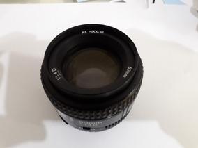 Lente Nikon 50mm 1.4 Af - Excelente!!