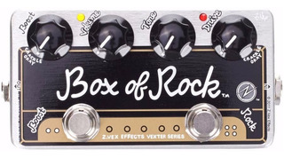 Pedal Guitarra Zvex Vexter Box Of Rock Booster - Cuotas