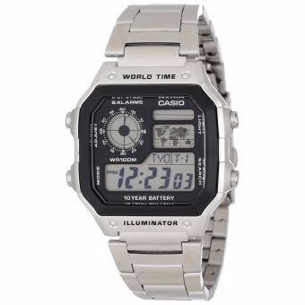 Reloj Casio Ae1200whd-1a-plateado