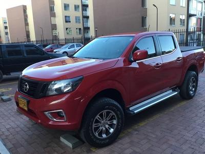 Camioneta Nissan Doble Cabina Np300 Frontier 4x2 Rojo 2017