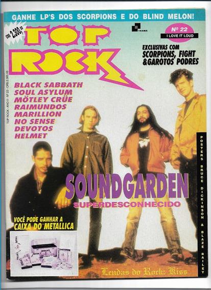 Revista Top Rock 22 Soundgarden