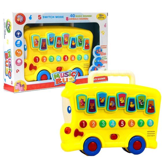 Ônibus Interativo Musical Educativo Bebê