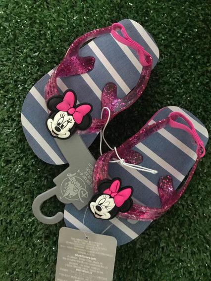 Chinelo Infantil Disney Store Original Minnie