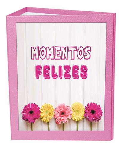 Album Passarinho Floral Rosa 10x15 - 600 Fotos + Brinde*