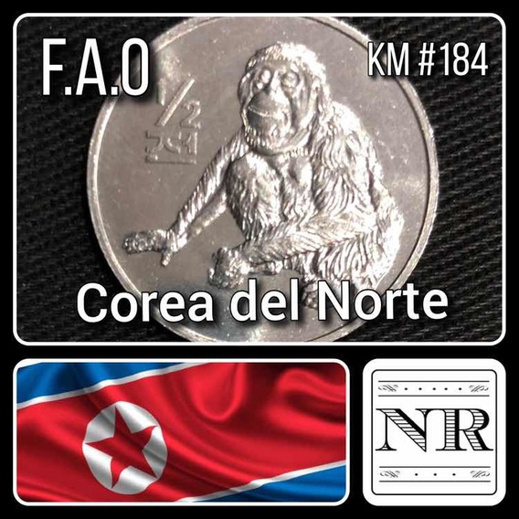 Corea Del Norte - 1/2 Chon - Orangutan - Km #184 - F. A. O.