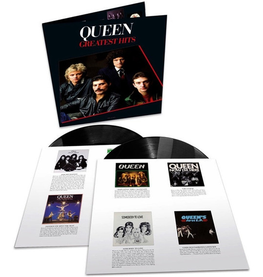 Lp Queen - Greatest Hits Duplo 180g Importado Remasterizado