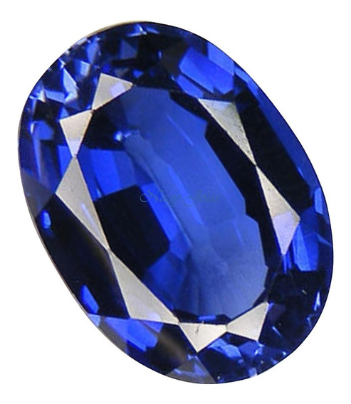 Raríssima Safira Azul Da Caxemira Pedra Preciosa/ 6,59 Cts