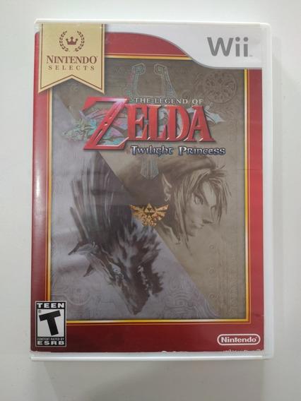 Jogo Zelda Twilight Princes Para Nintendo Wii Original.
