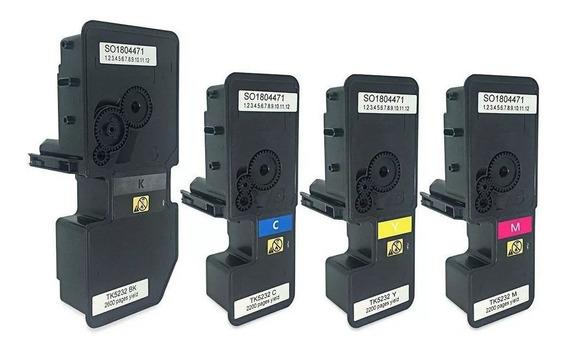 Toner Generico Tk-5232 M5521 P5021 P5021cdn M5521cdn 4 Cores