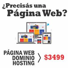 Página Web Autogestionable, Diseño Profesional Y Responsivo.