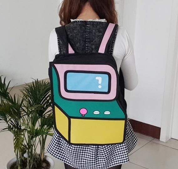 Mochila Bolso Diseño 2d 3d Cartoonbag Backpack Importada 8