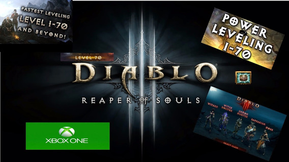 Diablo 3 Ros - Level Up Fast. Licito. Xbox One!!