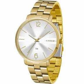 Relógio Lince Feminino Dourado Lrgj074ls2kx