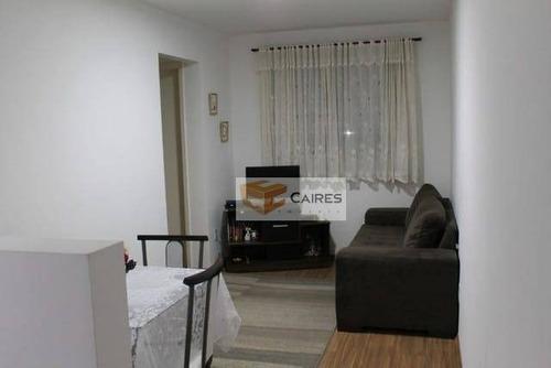 Imagem 1 de 21 de Apartamento Com 2 Dormitórios À Venda, 43 M² Por R$ 223.000,00 - Vila Campos Sales - Campinas/sp - Ap7531