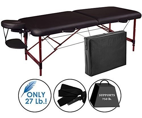 Master Massage Zephyr Lightweight Portable Massage Table Pa