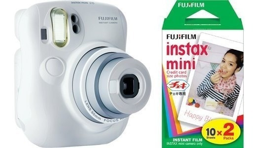 Fuji Instax Mini 25 Instant Camera + 40 Imprime - 2 Twin Pac