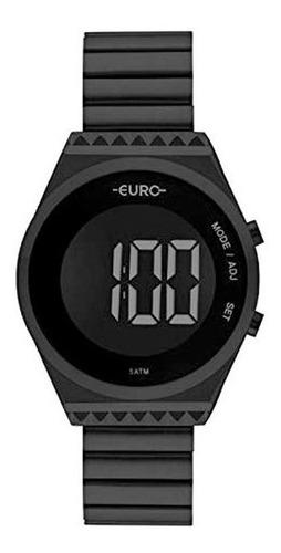 Relógio Euro Feminino Fashion Fit Preto Eubjt016ad/4p