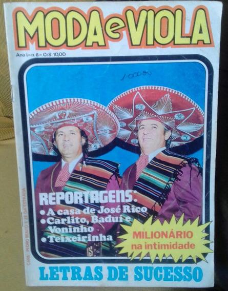 Revista Moda De Viola...teixeirinha..