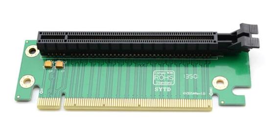 Placa Riser Adaptador De 90 Graus Pci-e Express 16x P/ Gpu