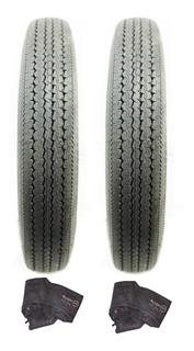 2 Neumáticos 5.0s15 Ar58 Pirelli + Camara Citroen 3cv