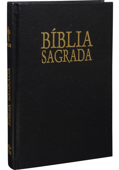Bíblia Ntlh Capa Dura Preta