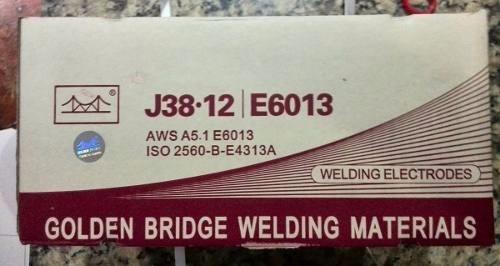Electrodos 6013 3/32  1/8 Golden Brige 5 Kilos