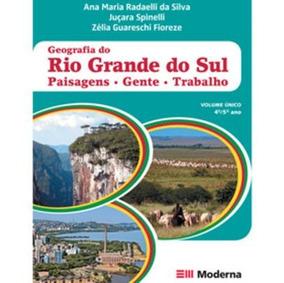 Geografia Do Rio Grande Do Sul - Ensino Fundamental - 4º E