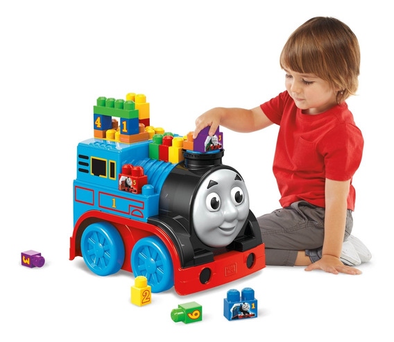 Mega Bloks® Thomas Construye Y Rueda
