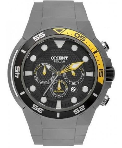 Relógio Orient Titanium Seatech Solar 12x Sem Juros Mbttc014
