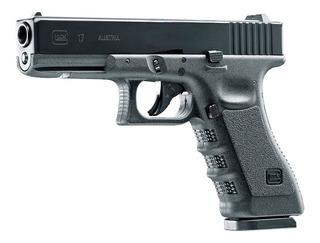Pistola Co2 Glock 17 Gen3 Negra Bbs .177 365fps Blowback