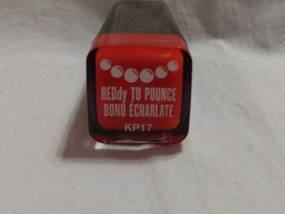 Covergirl Kathy Perry Color Red By You Pounc,rojo Escarlata.