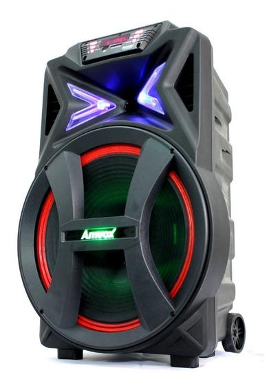 Caixa De Som Amplificada Bluetooth Amvox Aca 700 Pancadão