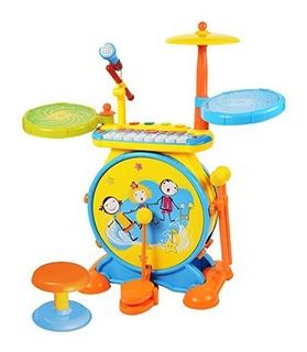 Baoli 2-en-1 Ninos Musical Instrument Boy - Chica Electronic