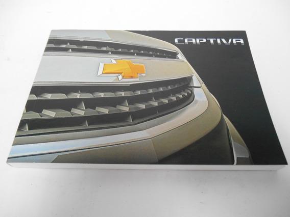 Manual Do Proprietário Captiva 2015 Original Novo Gm98550572