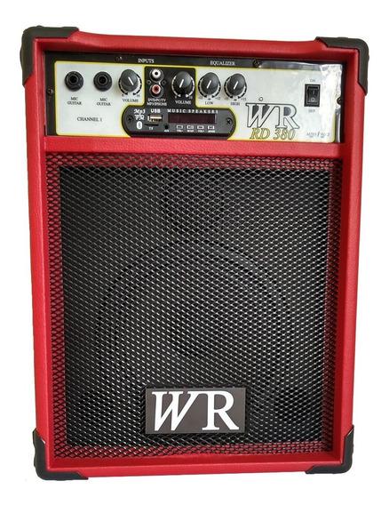 Caixa De Som Amplificada Bluet/mic/guitarra/violão 8