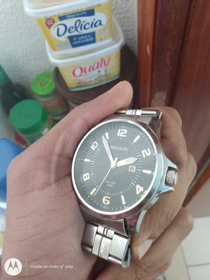Relógio Da Marca Seculus Prova Da Água