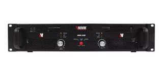 Amplificador De Potencia Novik Novo 1500w Rms 750w + 750w
